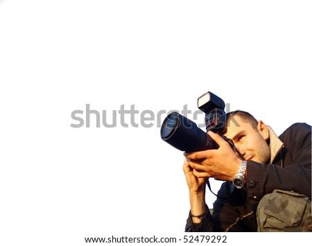 phtographer - stock photo
