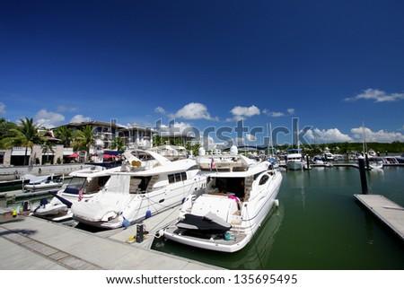 Phuket Marina - stock photo