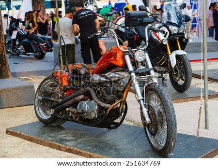 Phuket,Thailand -  April 11, 2014: annual festival of bikers
