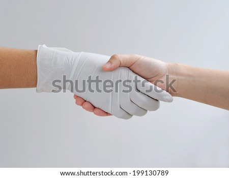 Physicians and patients agreed on the treatment.  - stock photo