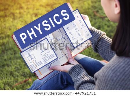 Physics Complex Experiment Formula Function Concept - stock photo