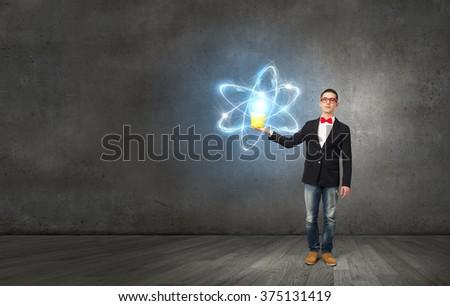 Physics science concept - stock photo