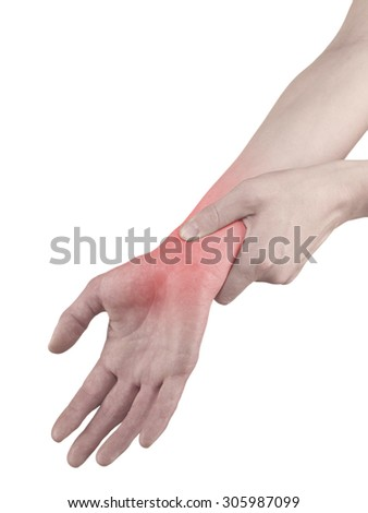 Physiotherapy treatment for wrist pain, aches and tension. It  is also used for prevention and treatment in competitive sports.