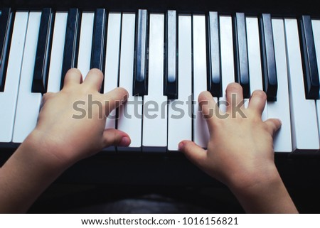 Piano Is The Key Instrument Synth Play Music