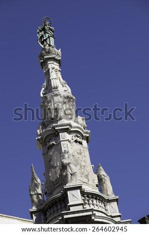 Piazza del Gesu, rome, italy, europe - stock photo