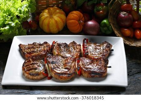 Picanha, brazilian barbecue - stock photo