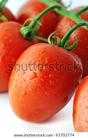 Piccadilly tomato, shallow depth of field.