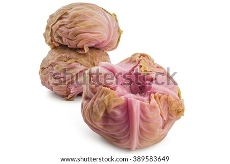 Pickled cabbages heads, Sour cabbages