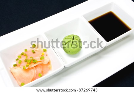 Wasabi Sauce Sauce And Wasabi For Sushi