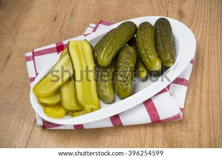 Pickles salad - stock photo