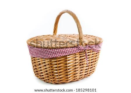 Picnic Basket - stock photo