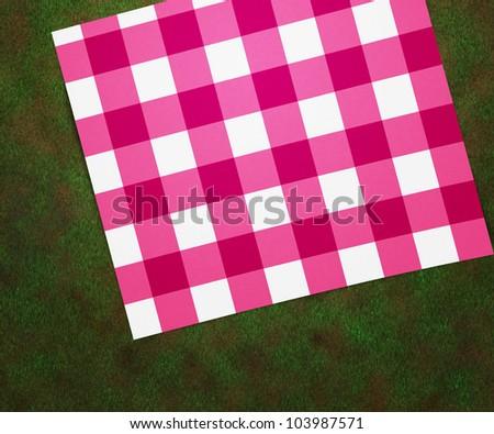 Picnic Blanket - stock photo