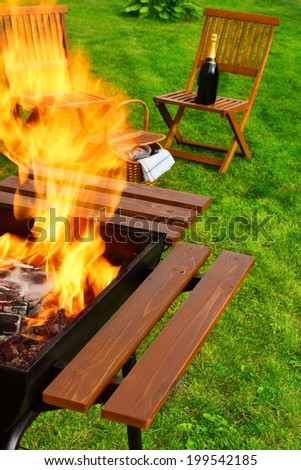 Barbecue party stock photos illustrations and vector art