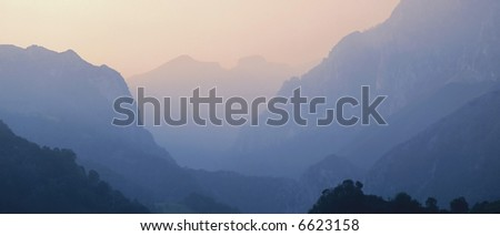 Picos de Europa Mountains Asturias Spain