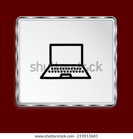 Pictograph of computer