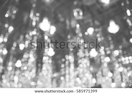 Picture blurred  for background abstract and can be illustration to article of bokeh light