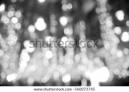 Picture blurred  for background abstract and can be illustration to article of light bokeh