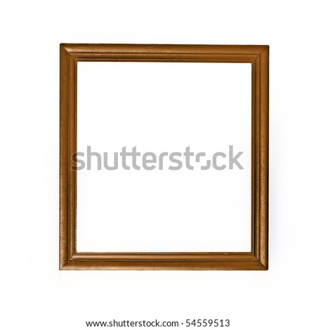 picture frame an white background