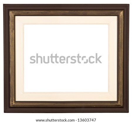 Picture frame, cut out