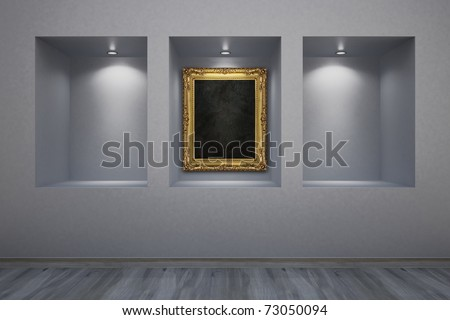 picture gallery - stock photo