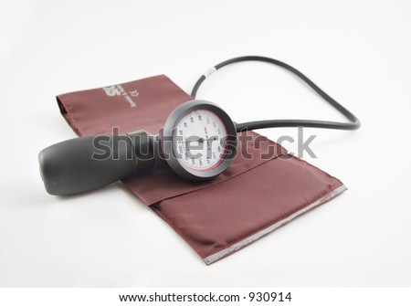 Picture of a blood pressure meter