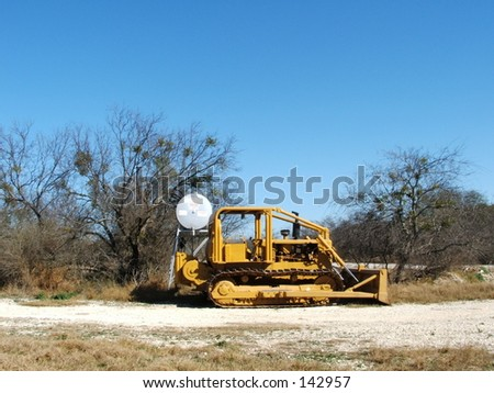 picture of a farm tractor