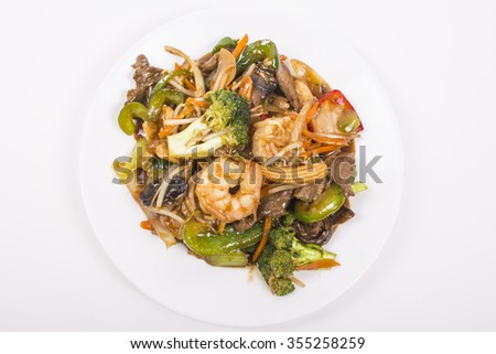 Picture of asian food for use in restaurants projects