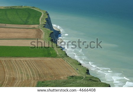 Picture of Cap Blanc Nez, North France