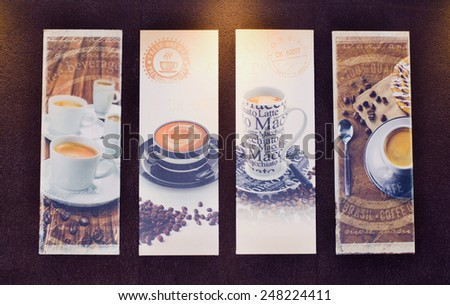 Picture of coffee - stock photo