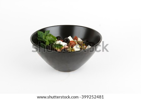 Picture of delicious greek salad