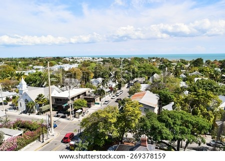 Picture of Key West Florida - stock photo