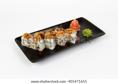 Picture of maki with apples and peanuts