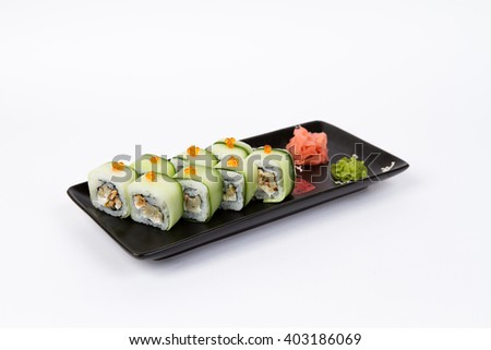 Picture of maki with mussels