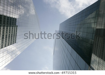 Picture of New York City buildings in Manhattan