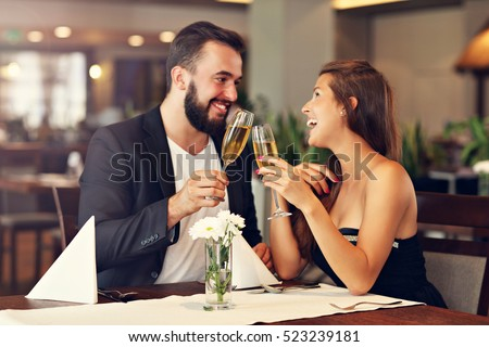 stock photo picture of romantic couple dating in restaurant 523239181 Some fundamental Information About Going out with A Ukrainian Woman