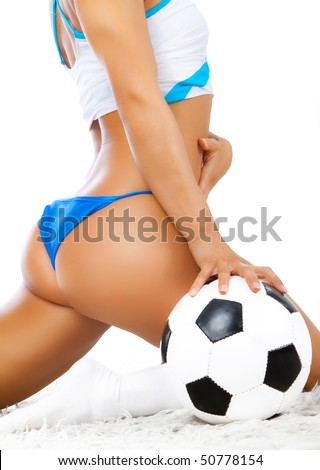 Picture of sexy back and ball