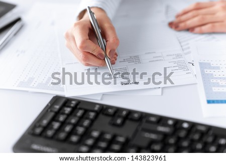 Printing Invoices Pdf Invoice Stock Images Royaltyfree Images  Vectors  Shutterstock Invoicing Company with Kmart Return Without Receipt Pdf Picture Of Woman Hand Filling In Invoice Paper Billing Invoices Pdf