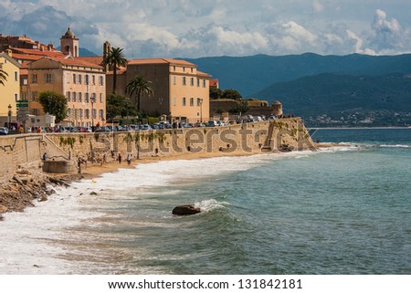 Picture taken in Ajaccio, France