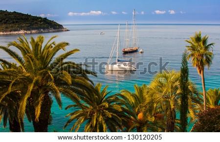 Picture taken in Dubrovnik, Croatia - stock photo