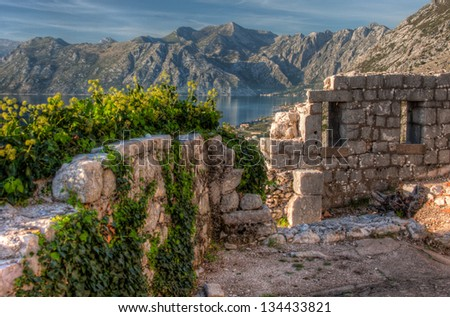 Picture taken in Kotor, Montenegro