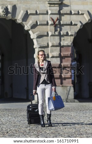 Pictures of tourism in Gdansk, Poland - stock photo
