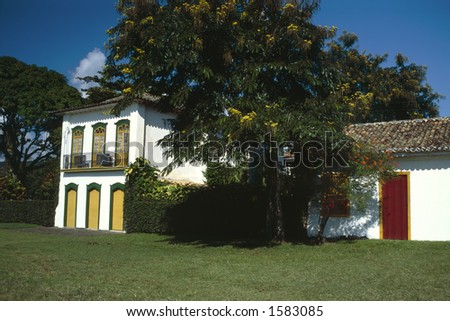 Picturesque House - stock photo