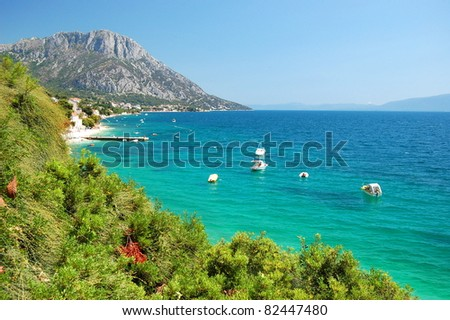 Adriatic Coast Croatia Adriatic Coast of Dalmatia
