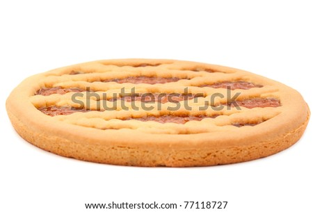 pie filling on a white background