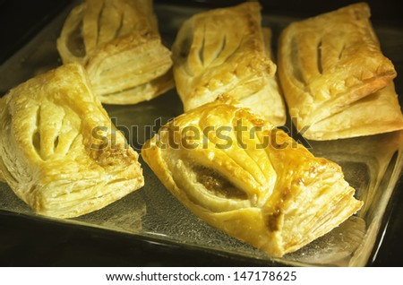 pie tuna - stock photo