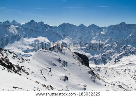 Piec Stawow Valley in Tatra Mountains National Park, Poland - stock photo