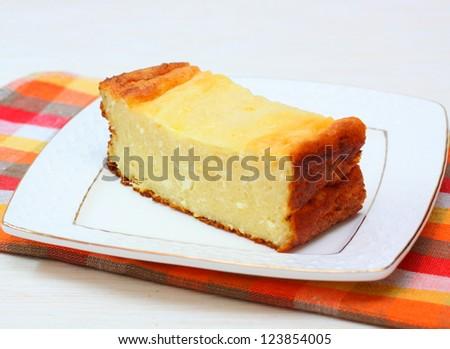 Piece casserole - stock photo