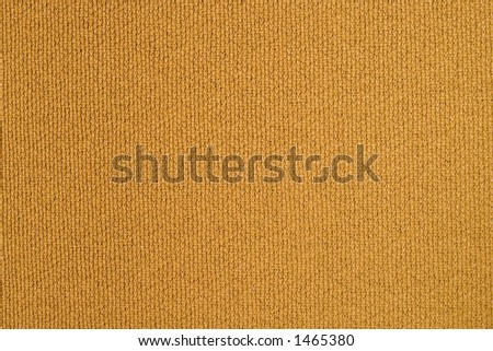 Piece of heavy brown fabric curtain - stock photo