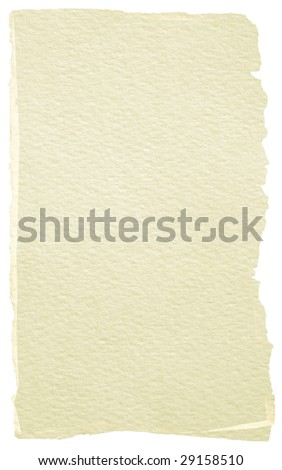Piece of paper for background - stock photo