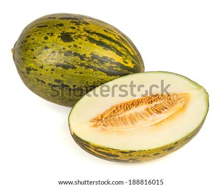Piel de sapo melon - stock photo